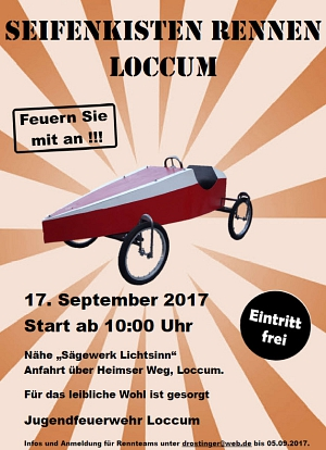 Seifenkisten Rennen der JF Loccum